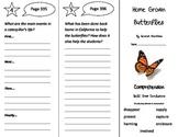 Home Grown Butterflies Trifold - Treasures 3rd Grade Unit 6 Week 5 (2009)