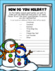 Home Holiday Questionnaire