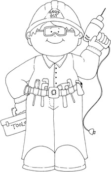 Home Improvement Coloring Pages - 23 Pages!