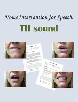 Home Intervention for Speech: TH sound