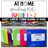 1st Grade Guided Reading At Home BUNDLE: Levels E-J