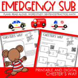 SEESAW At Home Learning:  Chester's Way Week Long Pack