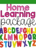 Home Learning Packet | Google Classroom Distance Learning