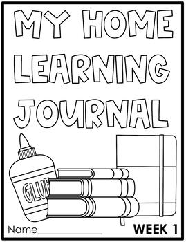 Home Learning Packet Week 1   Distance Learning FREEBIE