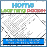 Home-Learning Packet(Pairs well with Big Day for Pre-K)The
