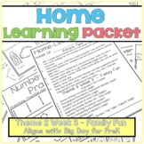 Home-Learning Packet(Scholastic Big Day for Pre-K) Theme 2 Week 3