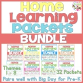 Home-Learning Packets(Pairs with Scholastic Big Day)8 Them