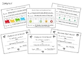 Home Learning Reward Charts and Certificates - for Kids and Adults!