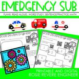 SEESAW At Home Learning:  Rosie Revere Engineer Week Long Pack