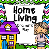 Home Living Dramatic Play Center for Preschool, Pre-K, and