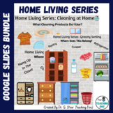 Home Living Series: Cleaning Supplies, Laundry & Grocery Sorting NO PREP Bundle