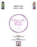 Home Math Trail - Measures Weight