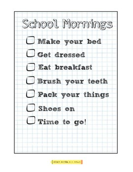 Home Morning Routine