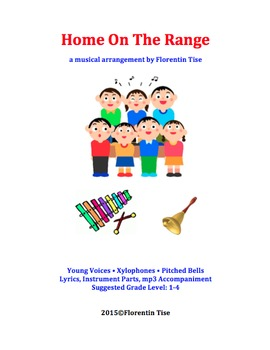 Home On The Range - Voices, Xylophones, Pitched Bells - for Music Classroom