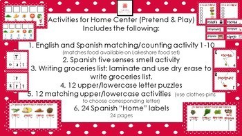Home Pretend & Learn Activities