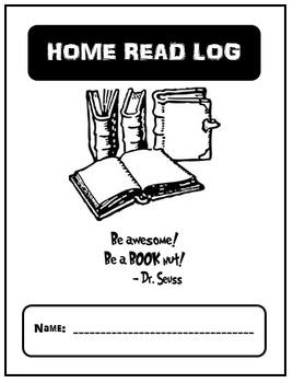 Home Read Log