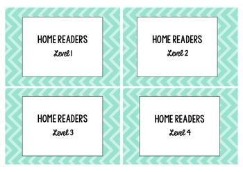 Home Reader Box Labels