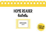 Home Reader Box Labels