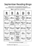 Home Reading Bingo - READO