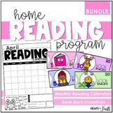 Home Reading Calendars + Book Bucks BUNDLE