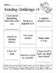 Home Reading Challenge Cards