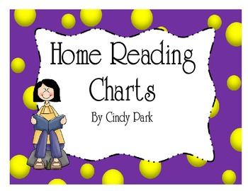 Home Reading Charts