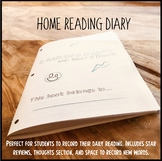 Home Reading Diary
