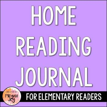 Take Home Reading Journal