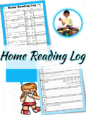 Home Reading Log W/ Questions Attached