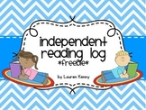 Home Reading Log for Independent Reading {FREEBIE}
