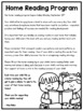 Home Reading Printables: Editable Letters, Logs & Labels
