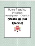 Home Reading Program 2018-2019: Geared Up For Reading! (K-Gr.5)