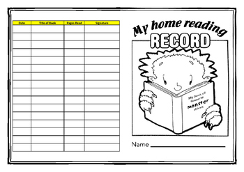 Home Reading Record