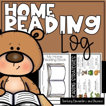 Full Year Home Reading Log - 250 Nights {includes parental