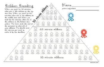 Home Ribbon Reading Program