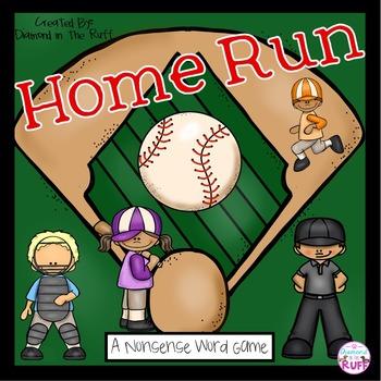 A Nonsense Word Game: Home Run