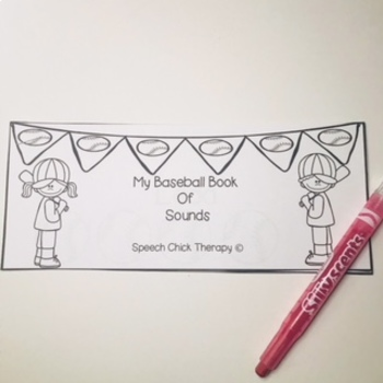 Home Run Articulation Activities for Speech Therapy