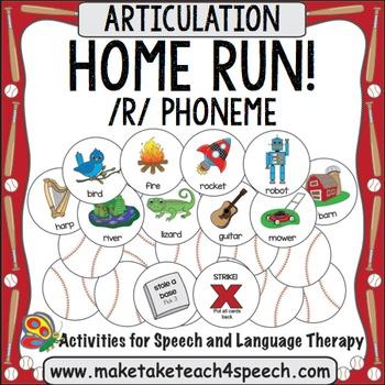 R Phoneme - Home Run!