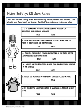 Home Safety: Kitchen Rules