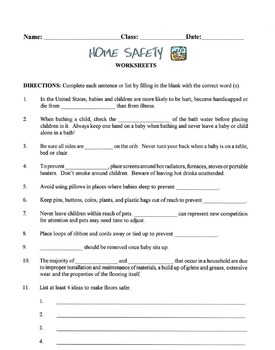Home Safety Lesson