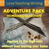 Home-School Adventure Genre Writing Pack