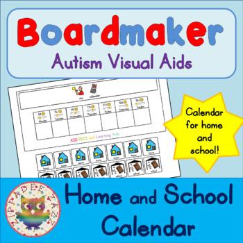Home / School Calendar - Boardmaker Visual Aids for Autism SPED