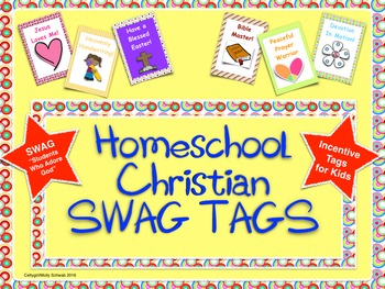Home School Christian BRAG TAGS / SWAG TAGS