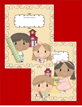 Folder / Binder COVERS with Cute Kids