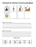 Home-School Communication Form