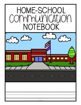 Home-School Communication Notebook: Editable