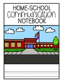 Home-School Communication Notebook: Editable