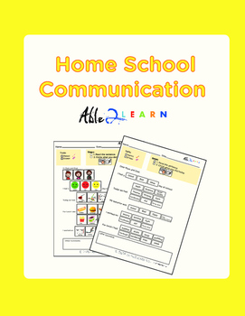 Home School Communication Package