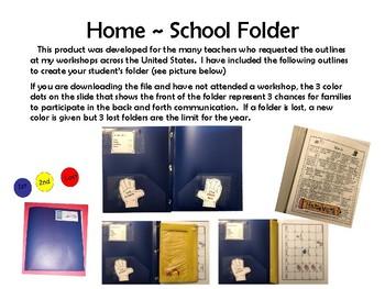 Home School Folder