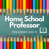 Home School Professor (1 of 2) Guide Book Grades K - 12